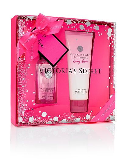 Gift Set Victoria\'s Secret Bombshell | fragrances | Pinterest ...