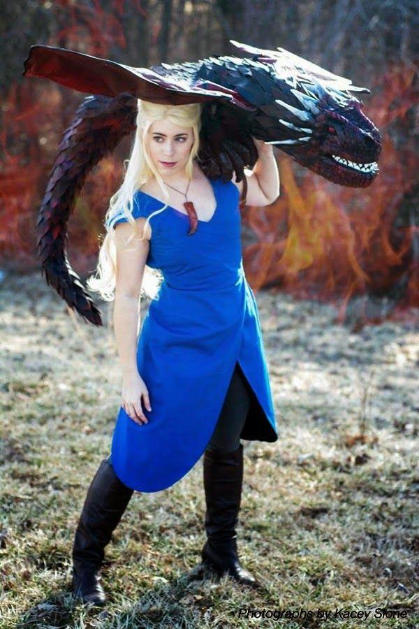 Game of Thrones Khaleesi Daenerys Targaryen and dragon ...  Game of Thrones...