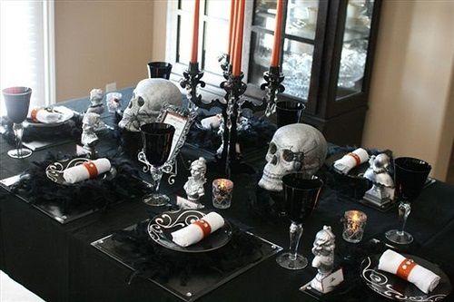 halloween wedding decor style - Halloween Wedding Decor