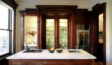 Brownstone kitchen my brownstone obsession pinterest for Kitchen cabinets 3rd ave brooklyn