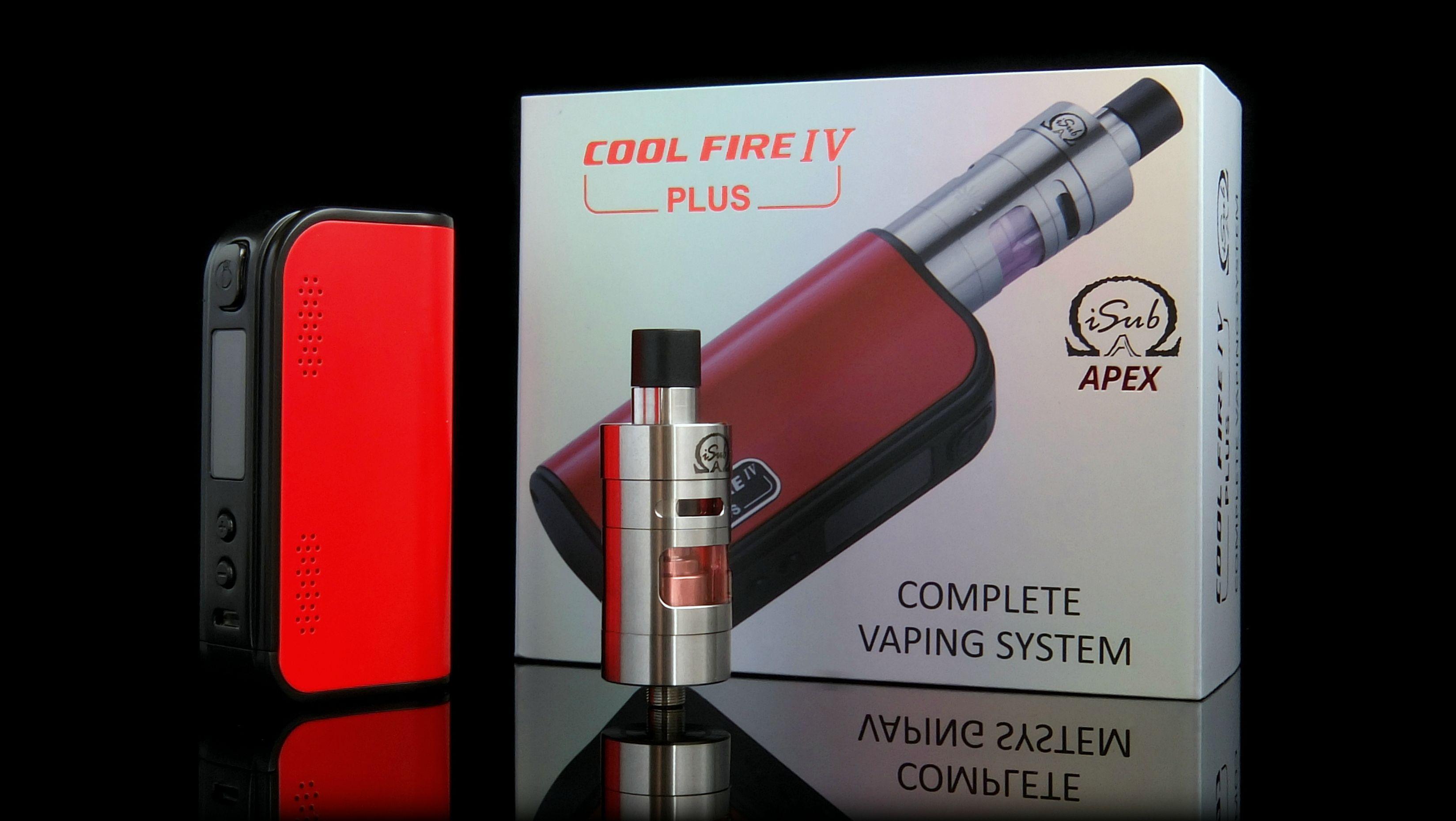 coolfire 4 plus innokin + Apex
