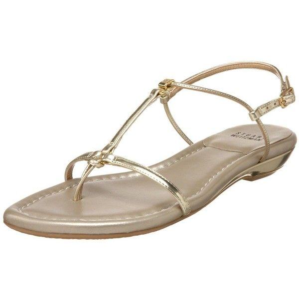 Stuart Weitzman Women's Itsybitsy Sandal found on Polyvore