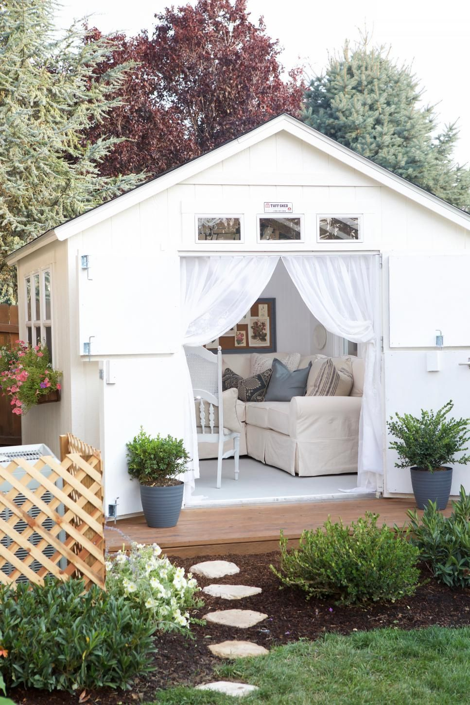 Inspiring Ideas for Shed Makeovers | Pinterest | Extra rooms ...