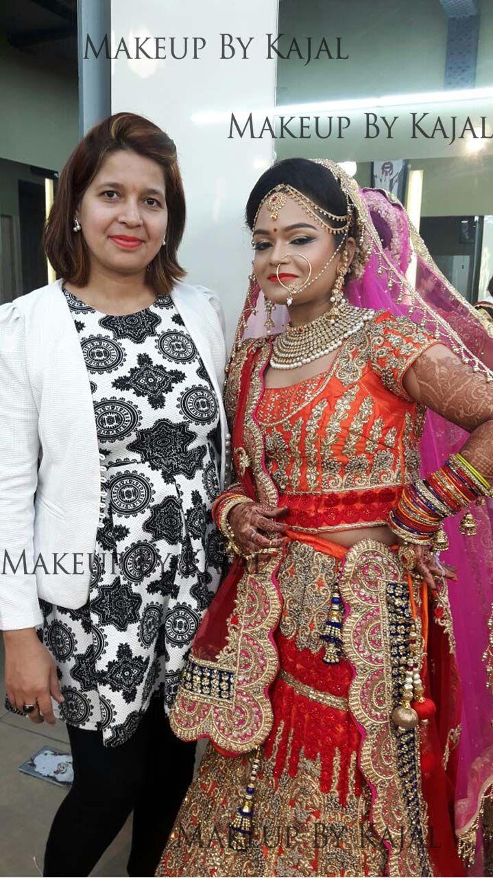 Expert and professional makeup artist Kajal Sharma from