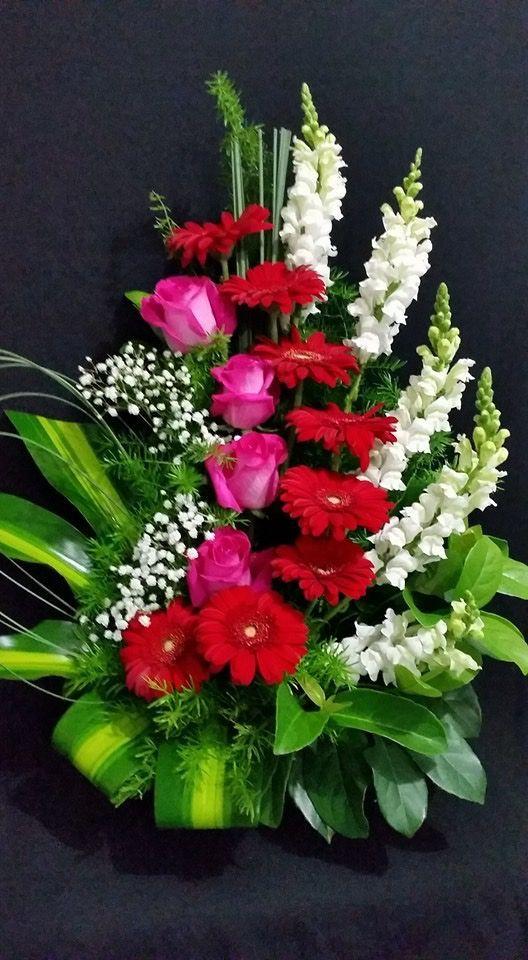 Pin De Virginia Laplace En Arreglo Florales Con Frutas Pinterest - Centros-florales-modernos