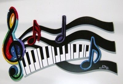 Pin By Clydean Hendley On Pianos Other Note Ables Music Wall Art Music Sculpture Music Wall