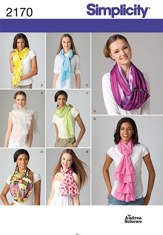 35+ Free Printable Sewing Patterns | Moda de pasarela, Bufanda ...
