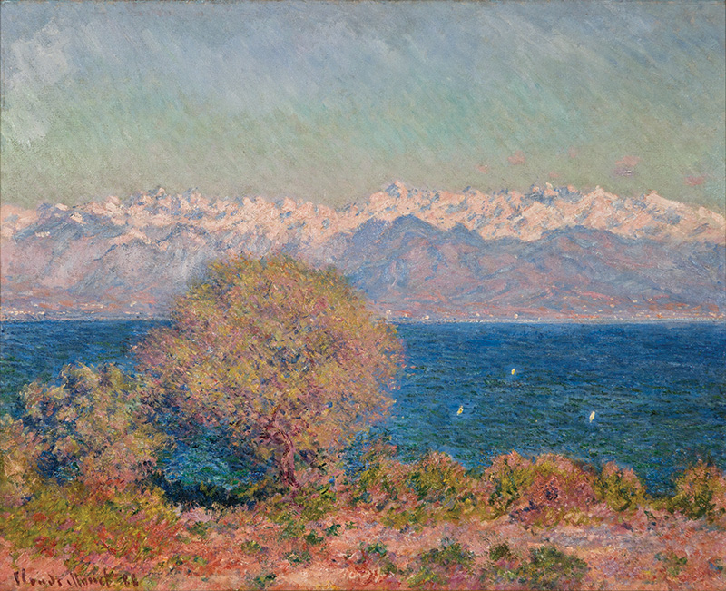 Monet - View of Cap d'Antibes, 1888 - List of works by Claude Monet -  Wikipedia in 2020 | Monet art, Monet, Claude monet