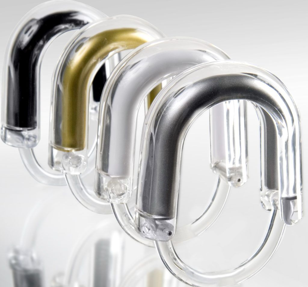 Large Shower Curtain Rings
