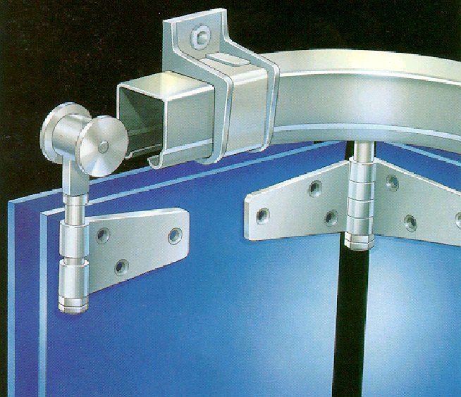 Top Hung Door System For Round The Corner Applications Sliding Garage Doors Garage Doors Sliding Doors