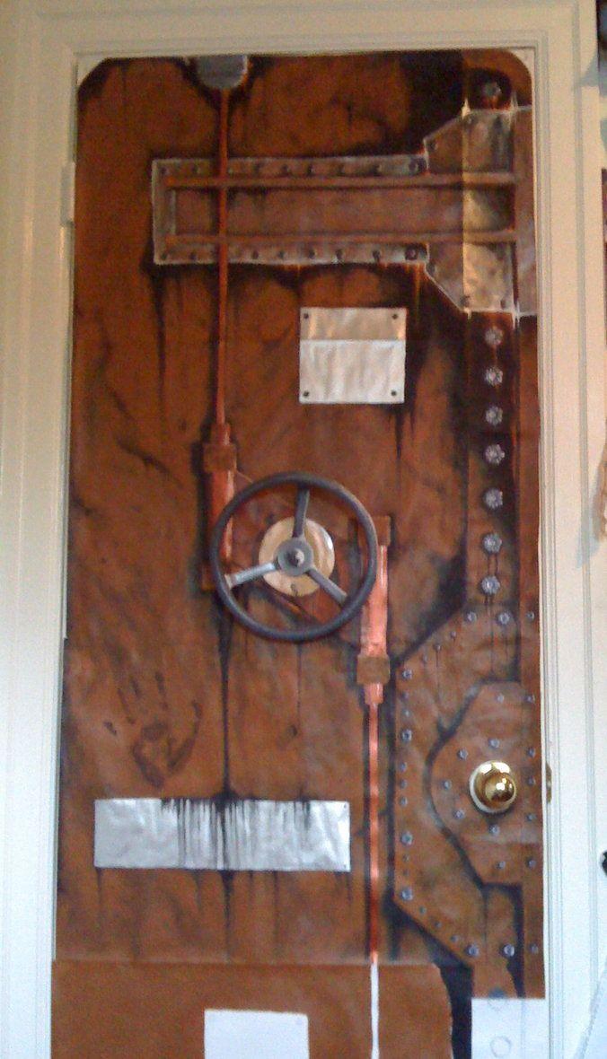 Ste&unk Door & Steampunk Door   Doors   Pinterest   Doors Gates and Architecture pezcame.com