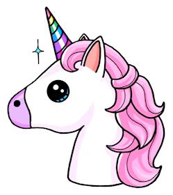 Alfabeto De Unicornio Arco Iris Emoji De Unicórnio