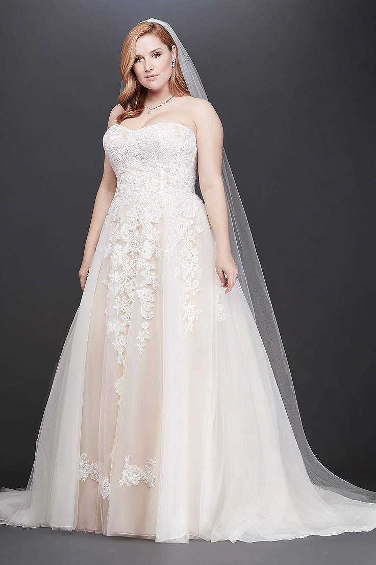 View strapless long wedding dress at davidus bridal dress
