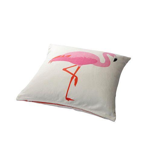 springkorn housse de coussin ikea r versible motif diff rent sur chaque face home style. Black Bedroom Furniture Sets. Home Design Ideas