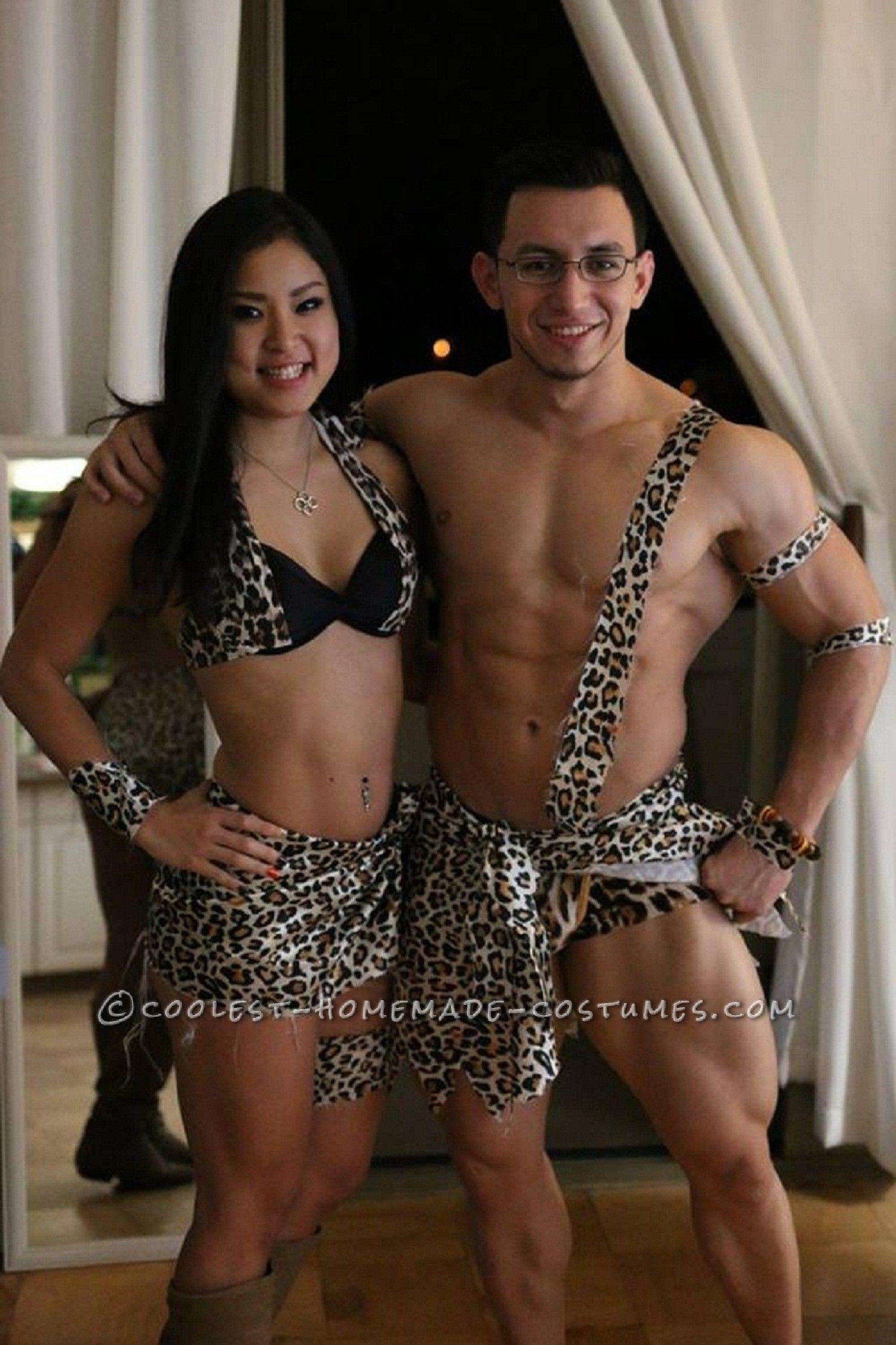 Caveman Halloween Costumes Couples