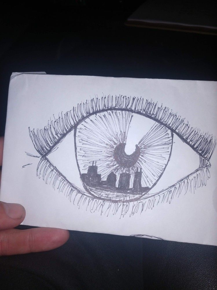 Quick Sketch Tattoo Idea Chicago Skyline Eye Tattoo Sketches Quick Sketch Chicago Skyline