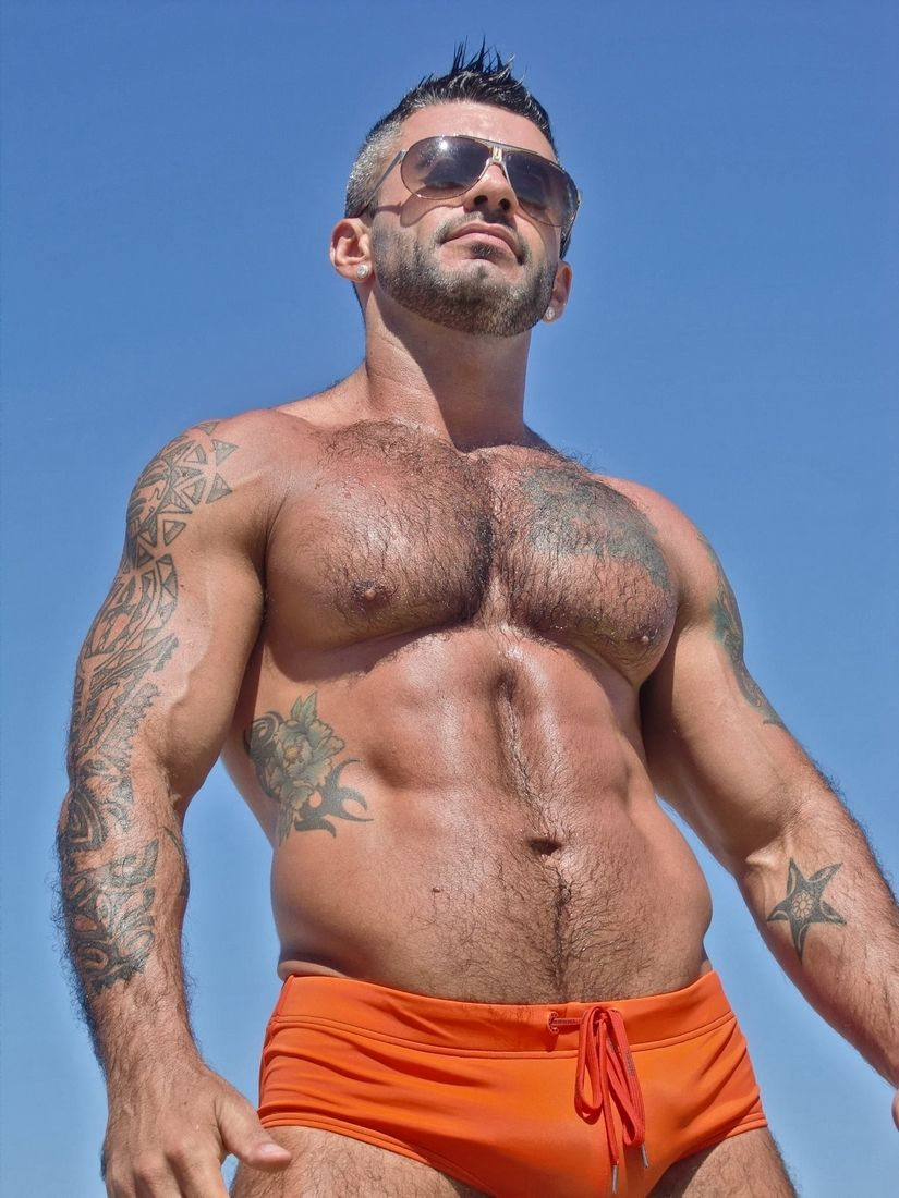 men over 30 | tattoos | pinterest | muscle bear, hairy men and