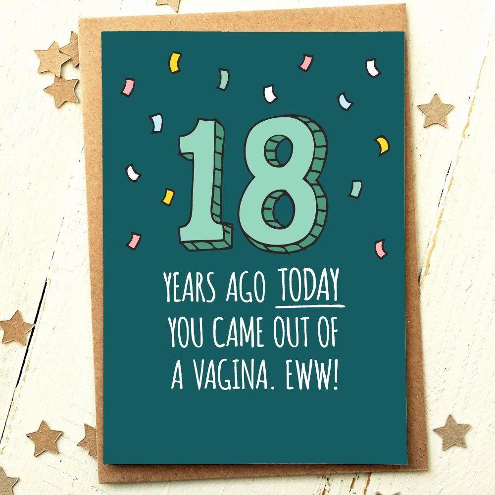 Funny Friend Ecard Elegant top 20 18th Birthday Funny Home
