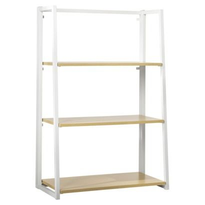 Folding Bookcase White 50 25 Wide 36 Tall 12 Deep