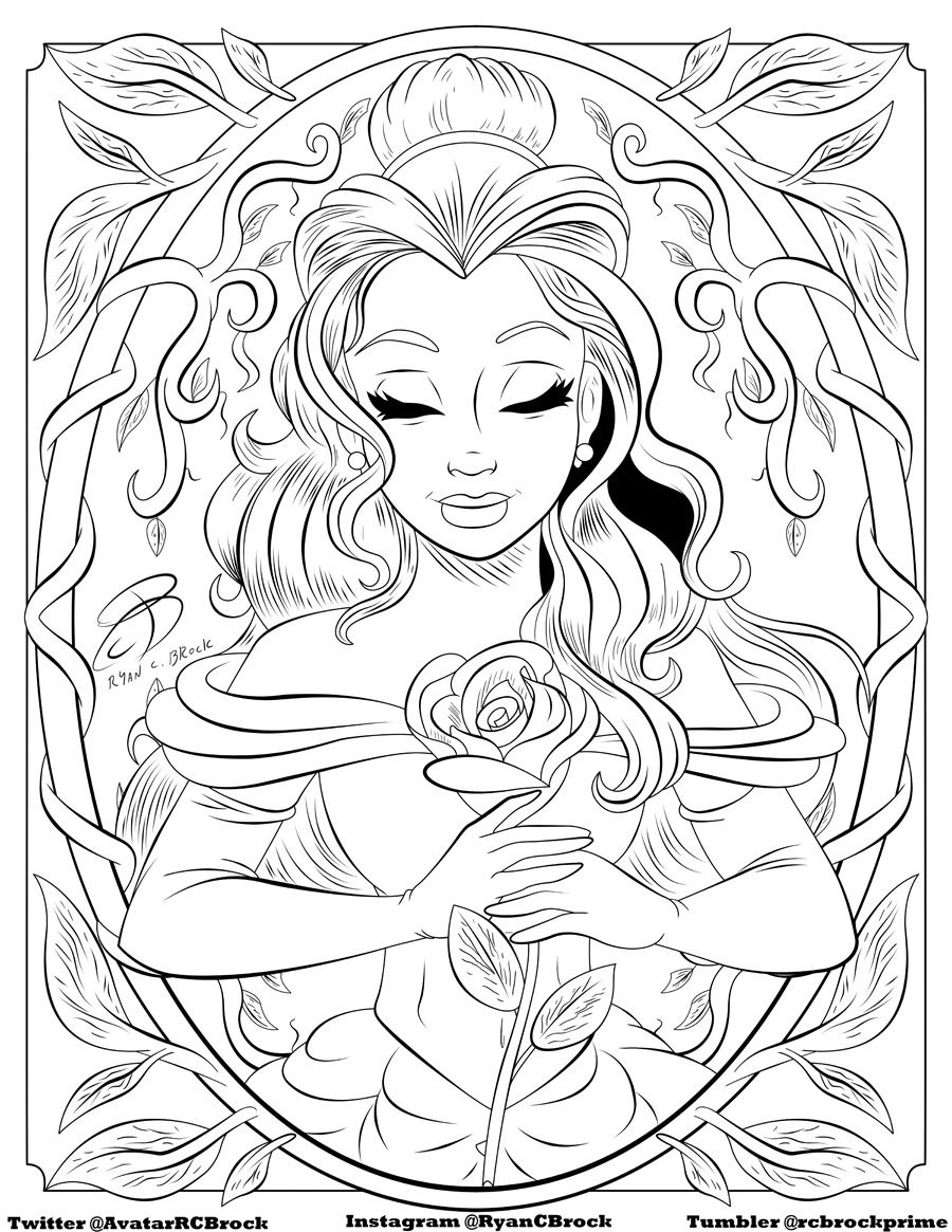 Disney Coloring Pages For Adults Coloring Rocks Free Disney Coloring Pages Frozen Coloring Pages Rapunzel Coloring Pages