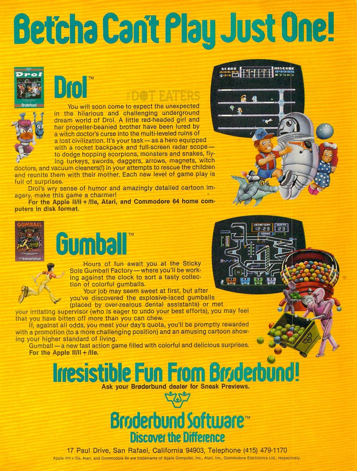 Drol Was A Fun Little Platformer 1983 Retrogaming Bitstory