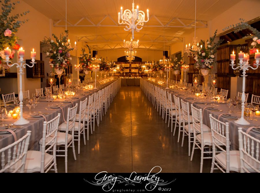 Incredible Wedding Receptions By Molenvliet Winery In Cape Town Table Decor