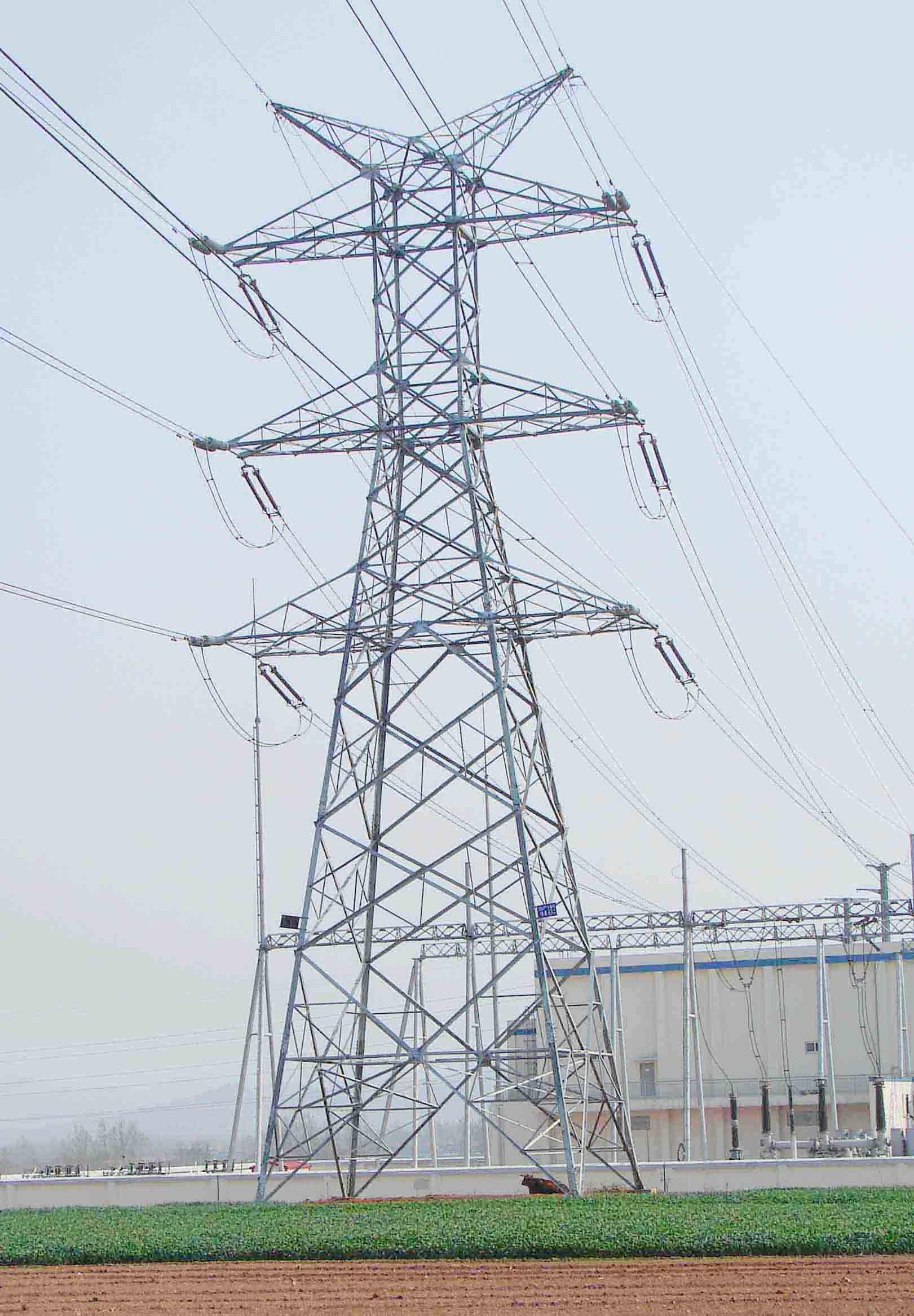 220KV power transmission tower www.mzgjg.com | Electric Power ...