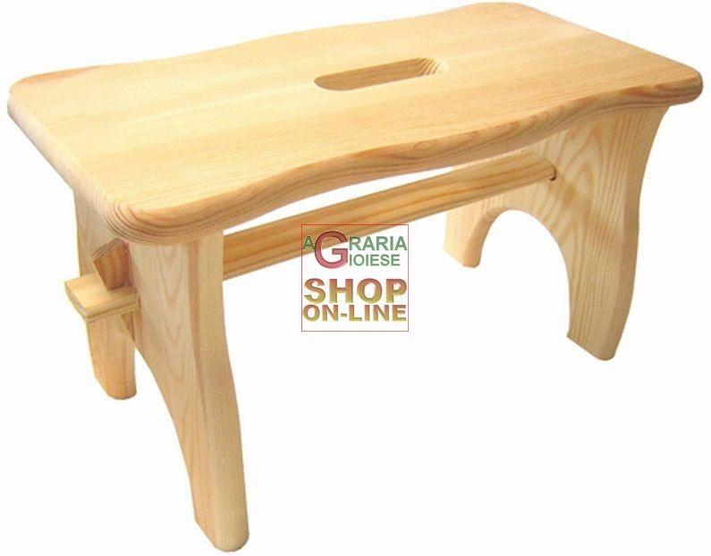 Sgabello montessori ~ Blinky panca sgabello in legno mod. loto cm 40x20x22h http: www