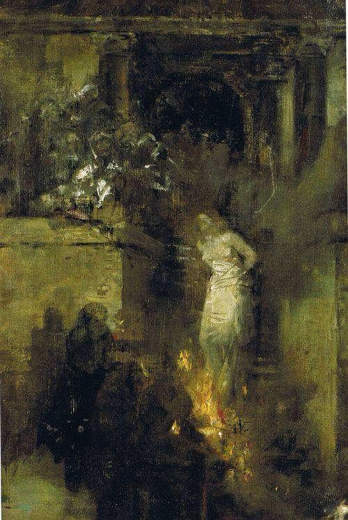 Albert von Keller - Hexenschlaf (1888)