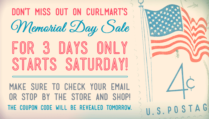 Curlmart S Having A Memorial Day Sale Curly Hair Styles Curly Hair Care Free Hair