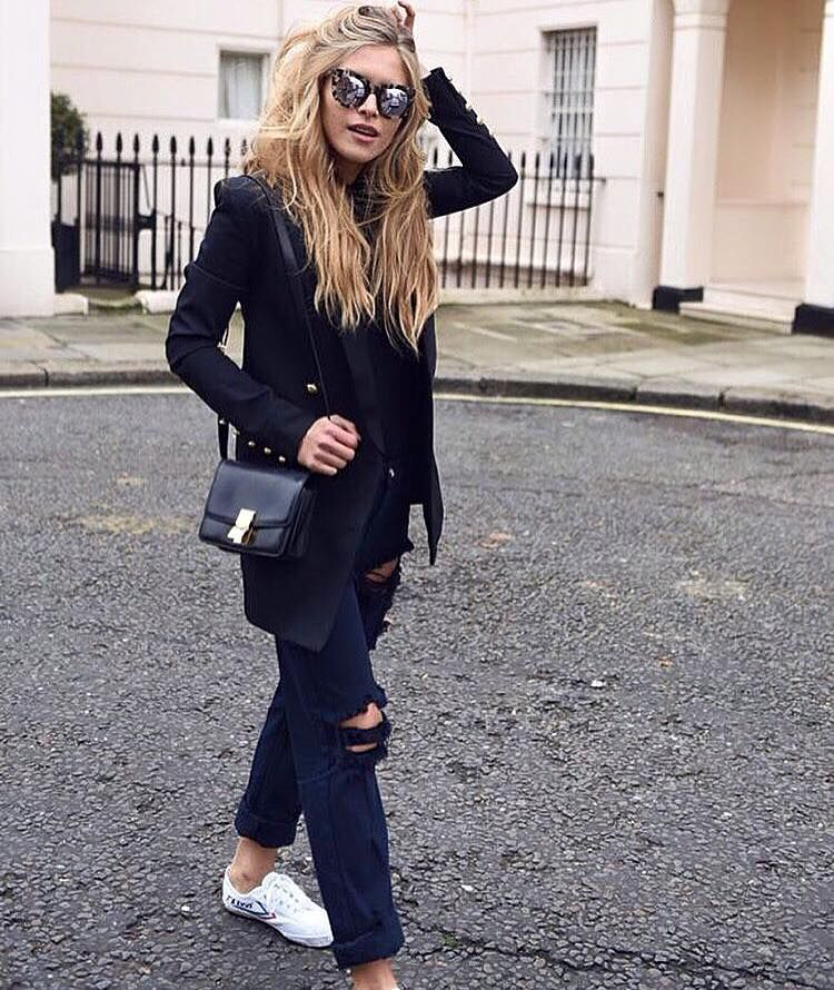 All Black outfit envy by @majamalnar #feiyue ...