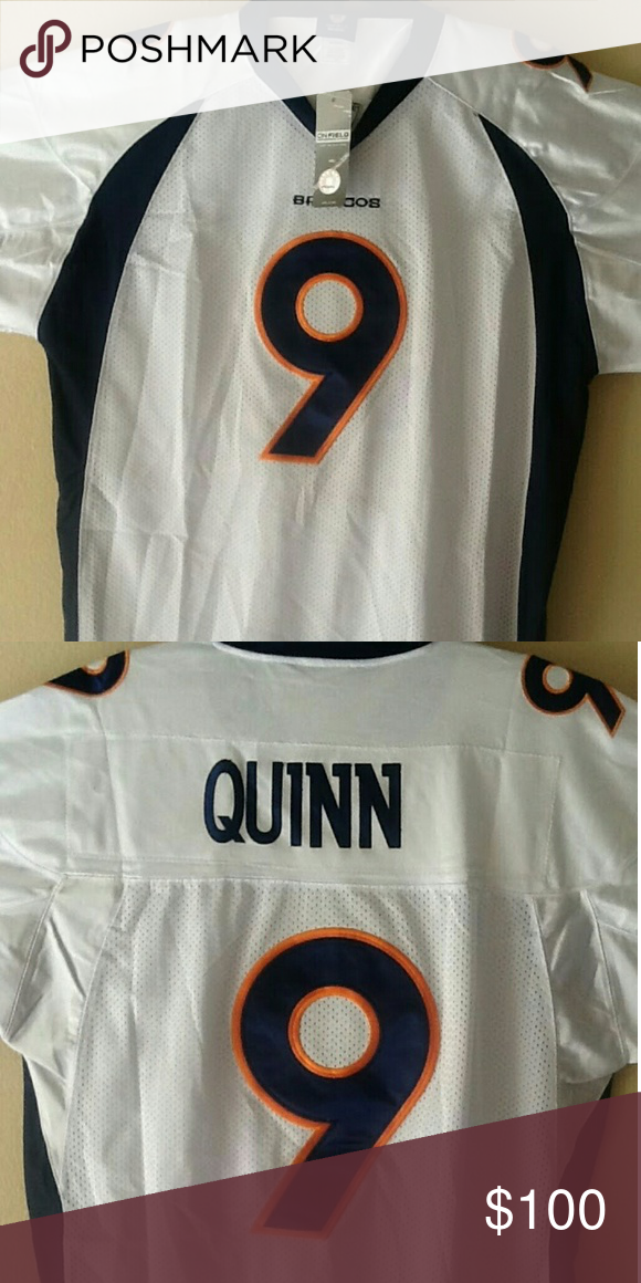 newest 69b32 8013c Authentic NFL Jersey New Authentic Hand stitched Brady Quinn ...