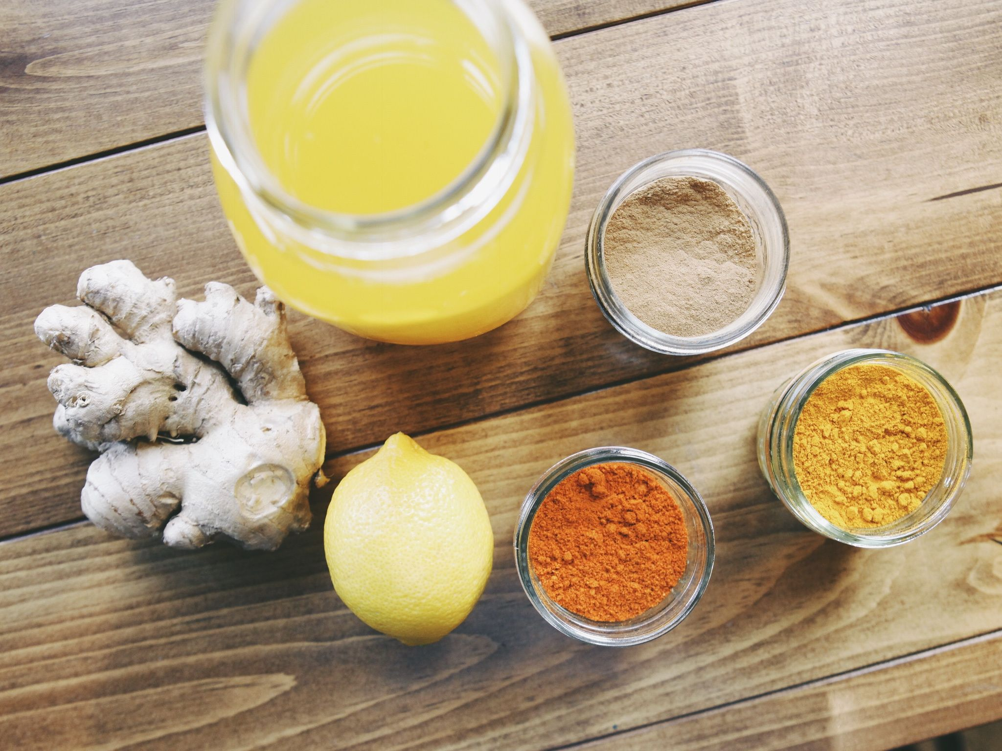 Our in-house nutritionist was in the kitchen whipping up some magic & came up with an amazing Turmeric Tea. This guy is anti-inflammatory, great for digestion, aids in a healthy metabolism and is an excellent immune booster. Basically it's a reset button for your system.