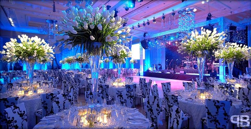Over The Top Wedding Centerpieces Beautiful Make Up Is Our Hallmark