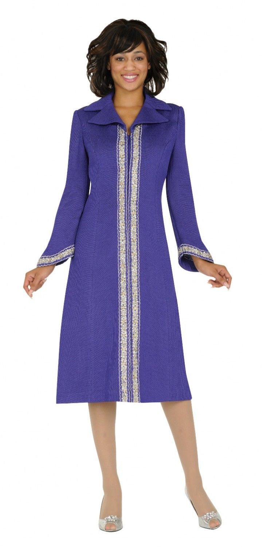 women choir robes | One piece notch collar coat dress | Stuff to Buy ...