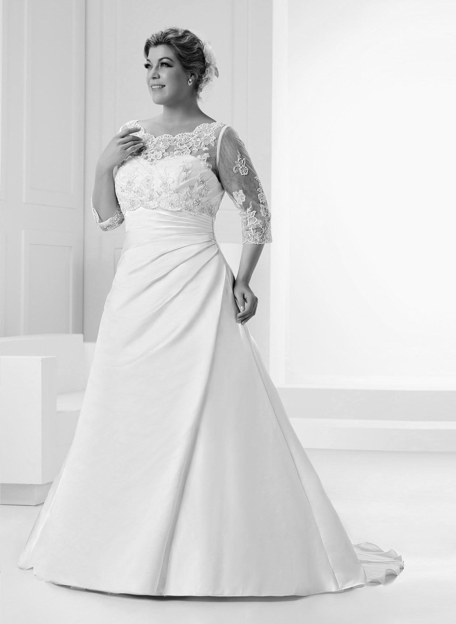 Großen Größen - La novia, Hochzeitsmode für Braut & Bräutigam ...