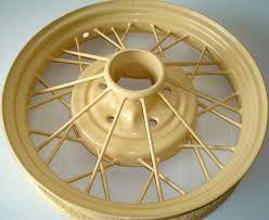 cream wheel -