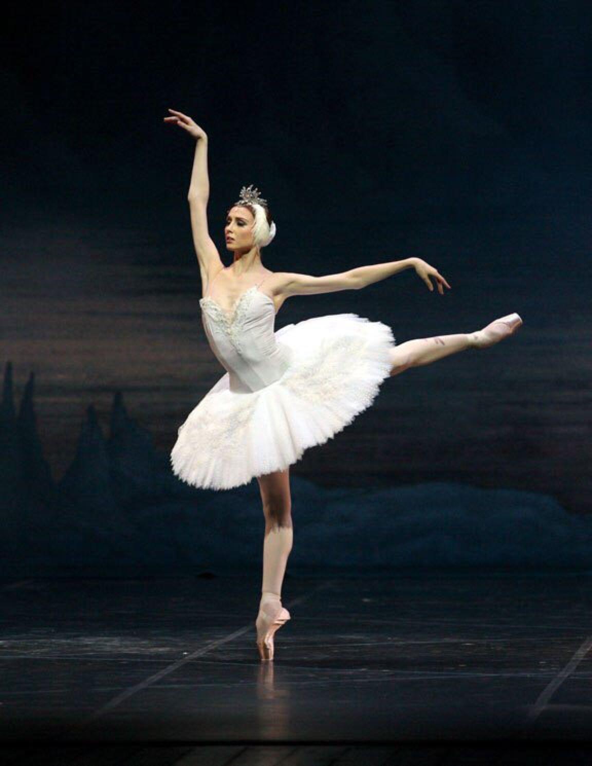 Svetlana Zakharova Swan Lake Ballet Beautie Sur Les Pointes