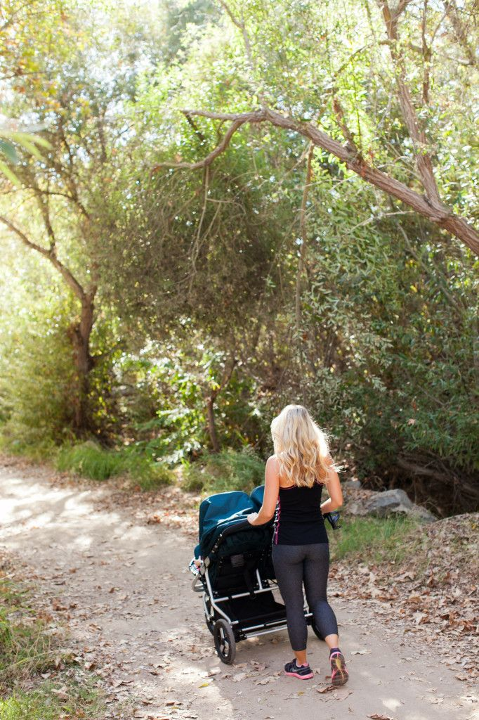 The Bumbleride Indie Twin is perfect for walks on the