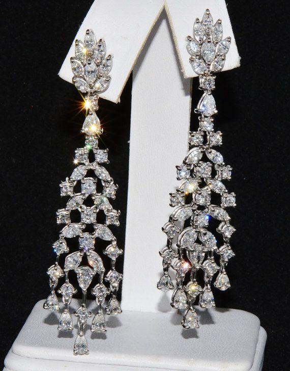 3aa03569b Diamond Earrings - Diamond Stud Earrings - Diamond Chandelier ...