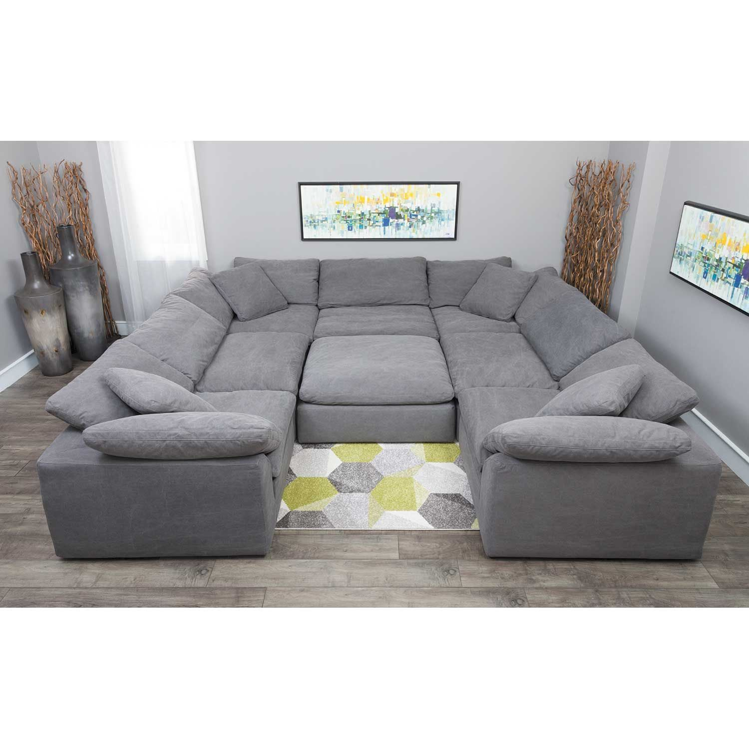 The Best Synergy Home Furnishings 4 Piece Modular