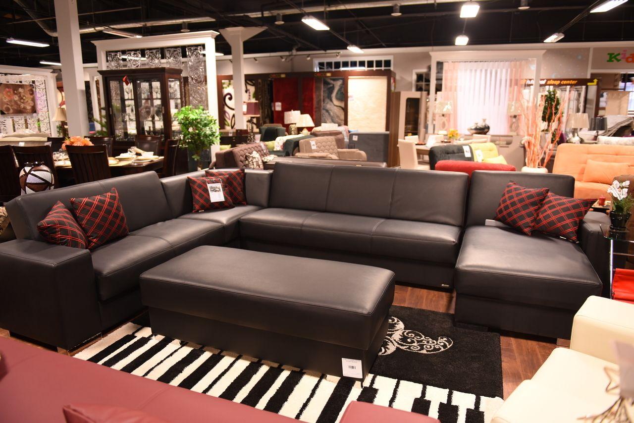 KOBE MODULAR SECTIONAL BLACK Istikbal Furniture SECTIONALS