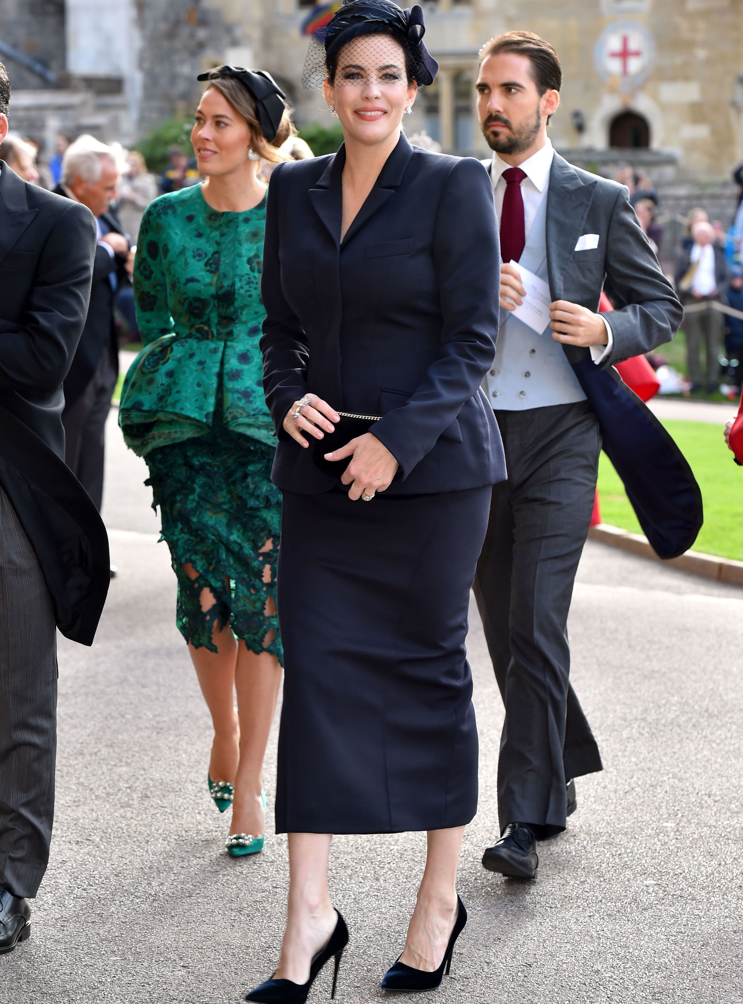 Every Celebrity Guest At Princess Eugenie Jack Brooksbank S Royal Wedding Royal Wedding Guests Outfits Eugenie Wedding Wedding Guest Outfit [ 3253 x 2407 Pixel ]