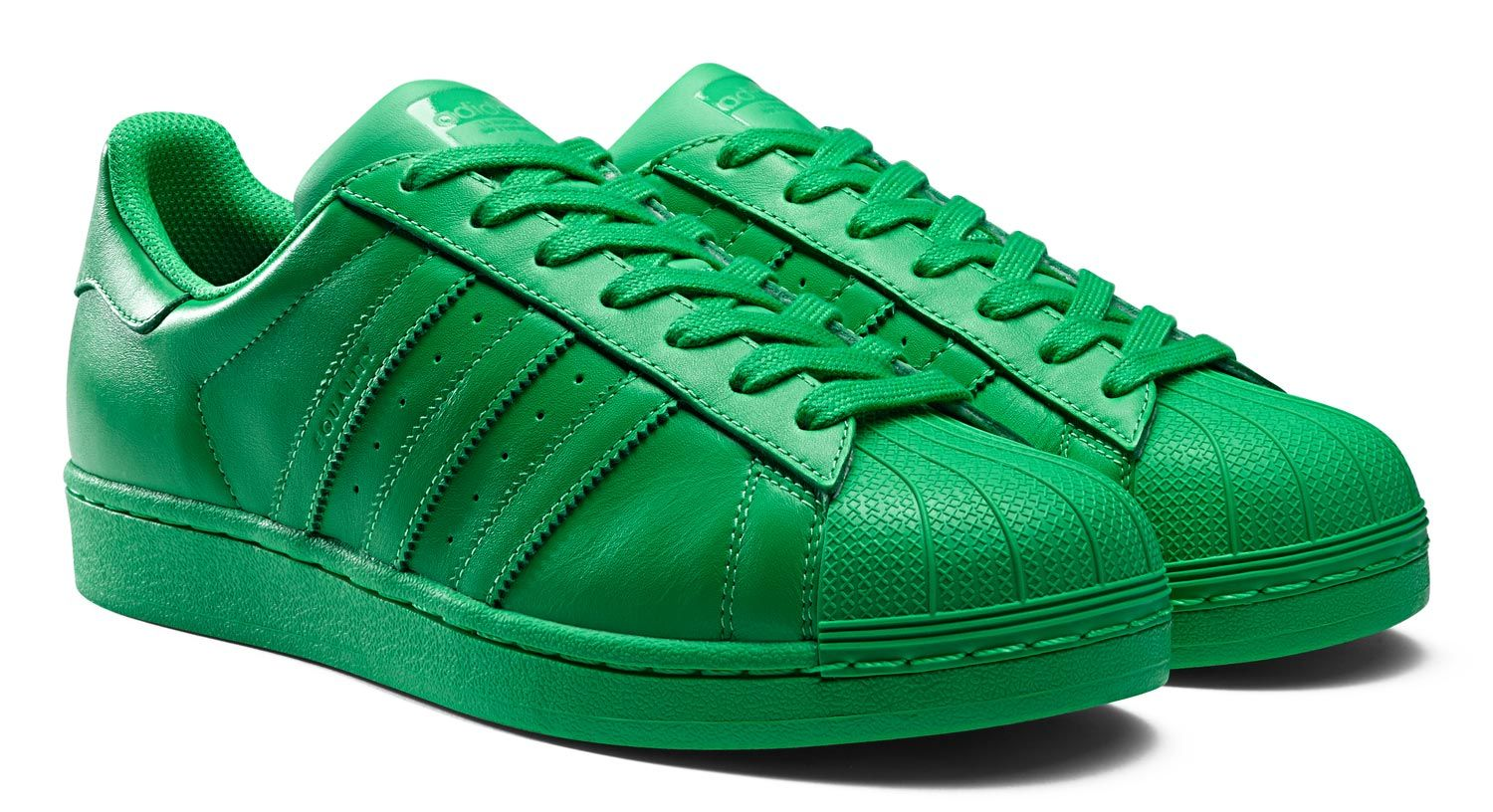 Adidas Superstar Blue Green