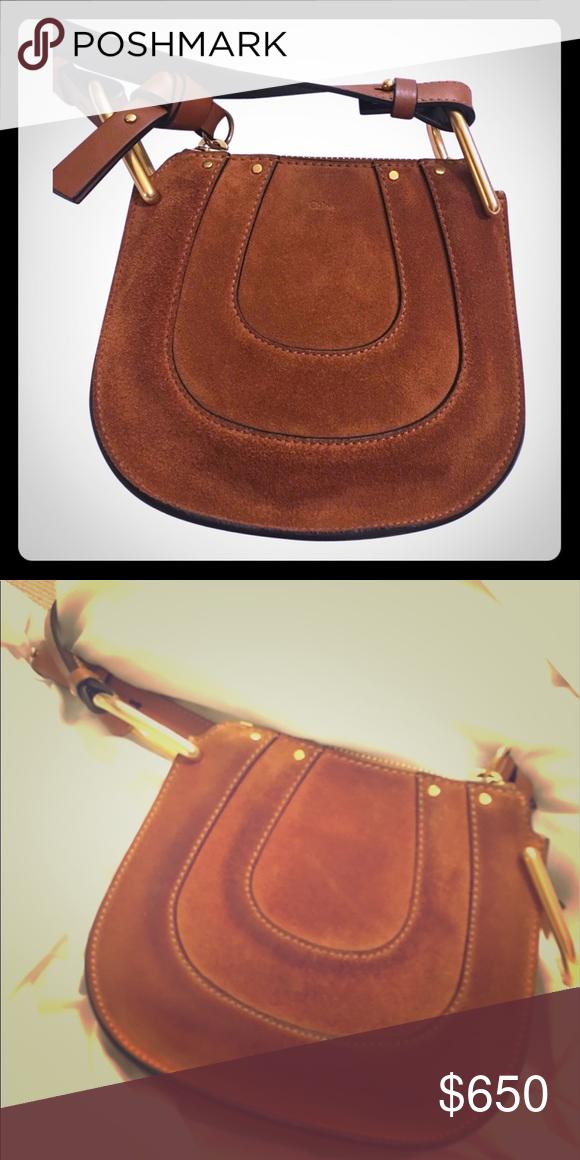 e623646c2e Chloe Hayley Nano brown suede chloe in lightly used condition! perfect  crossbody! Chloe Bags Crossbody Bags