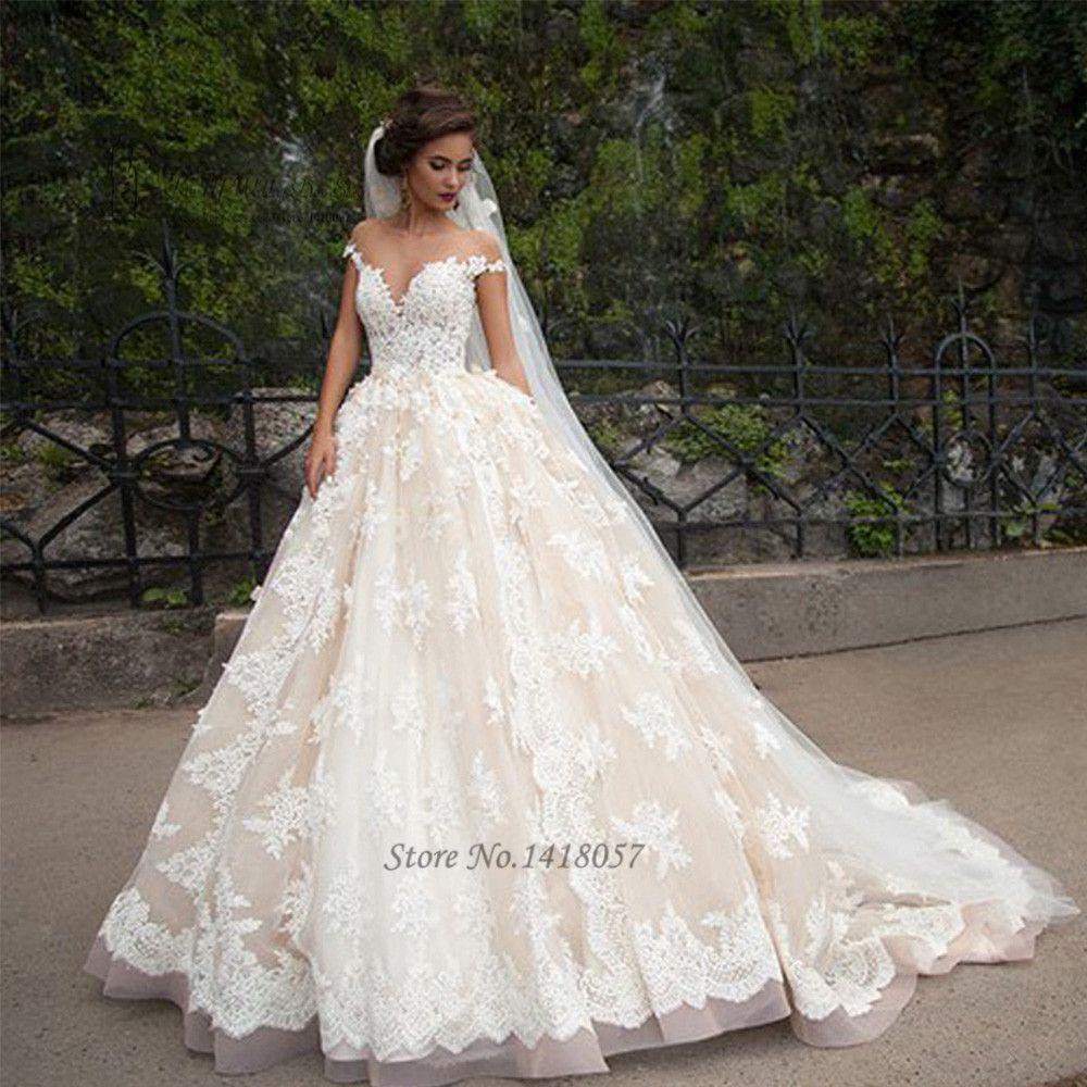 Vintage Turkey Wedding Dresses Lace 2016 Wedding Gowns Sexy Bridal ...