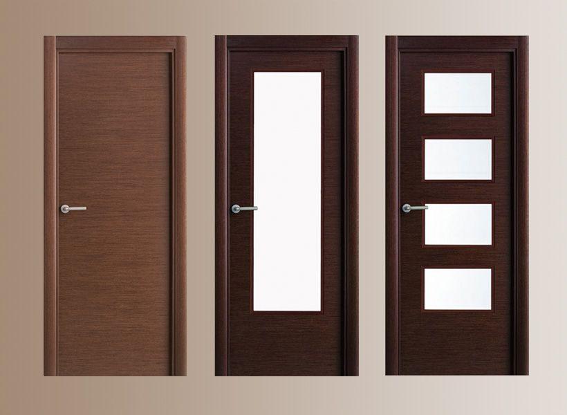 Puertas de madera acorazadas y blindadas for Puertas de madera interiores modernas