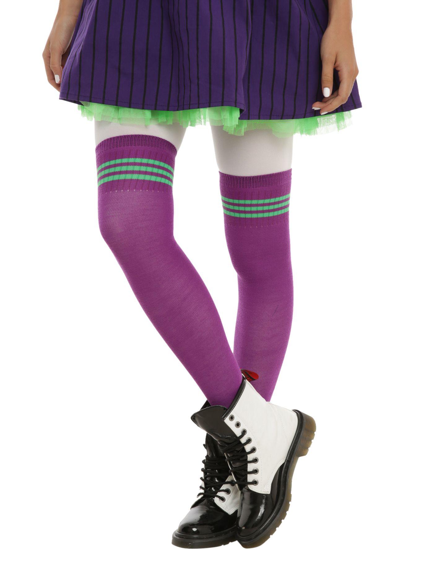 959e93d36d8 DC Comics The Joker Over-The-Knee Socks