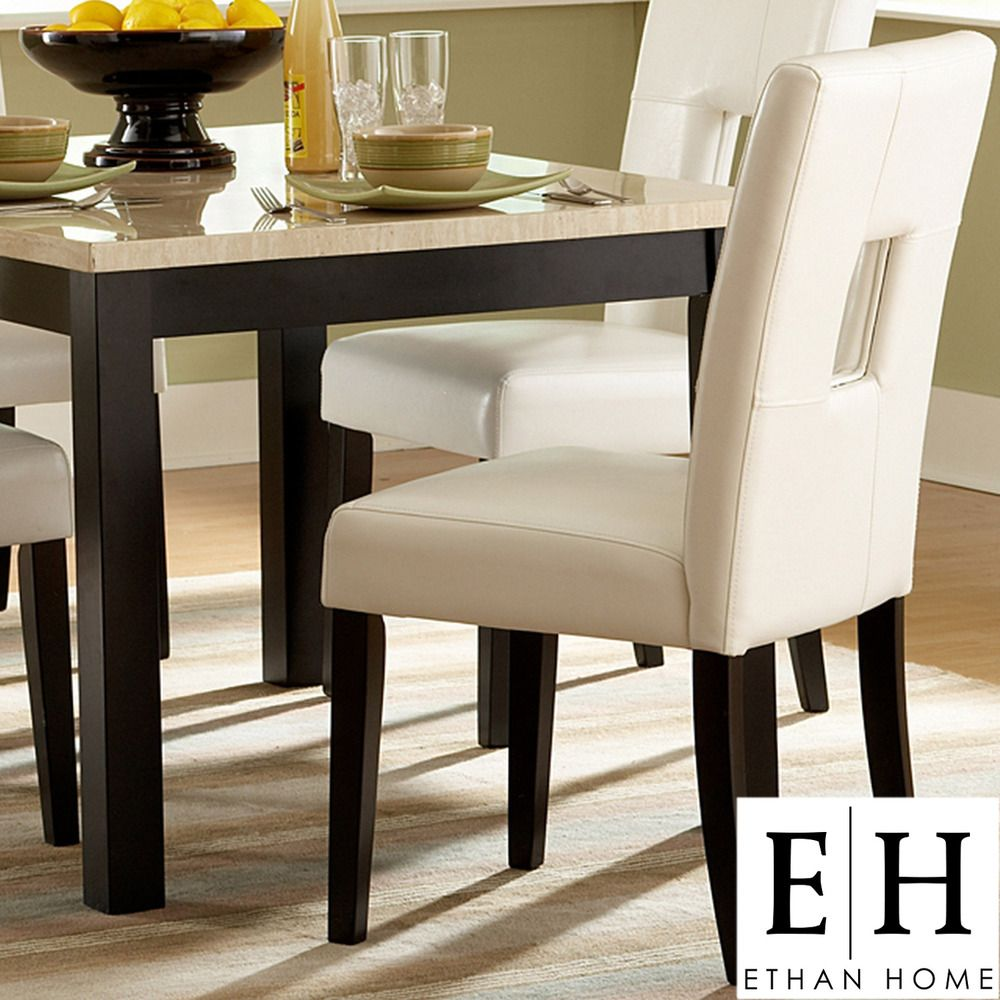 Mendoza Keyhole Back Dining Chairs Set Of 2 By Inspire Q Bold