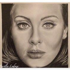 Portrait réaliste au crayon graphite de °°adèle°°   Portraits ...